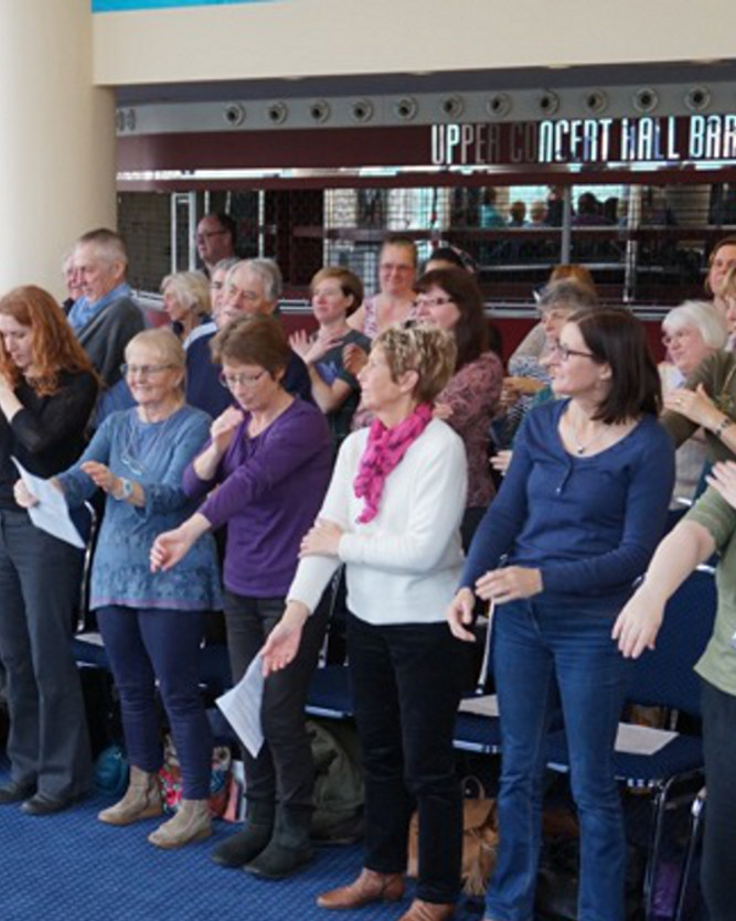 Nottingham Lunchtime Choir: informal singing session
