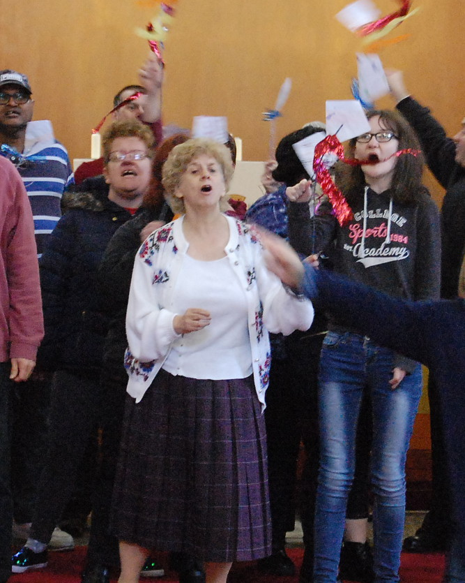 Open Voices: especially designed singing groups