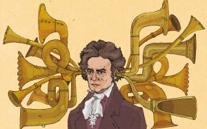 Ludwig van Beethoven as imagined by Wesley Merritt